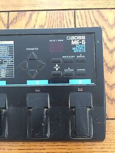 BOSS™ ME-6 Multiple Effects Pedal