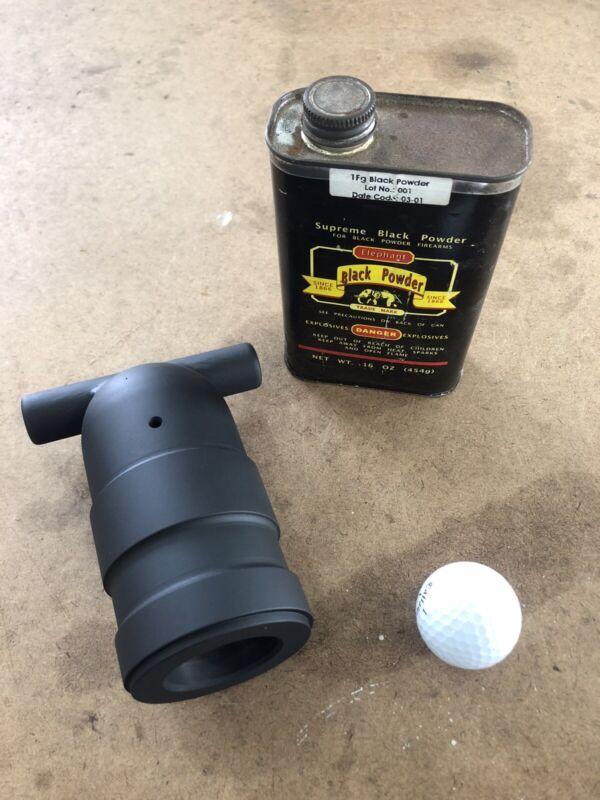 Black Powder Golfball Mortar Cannon