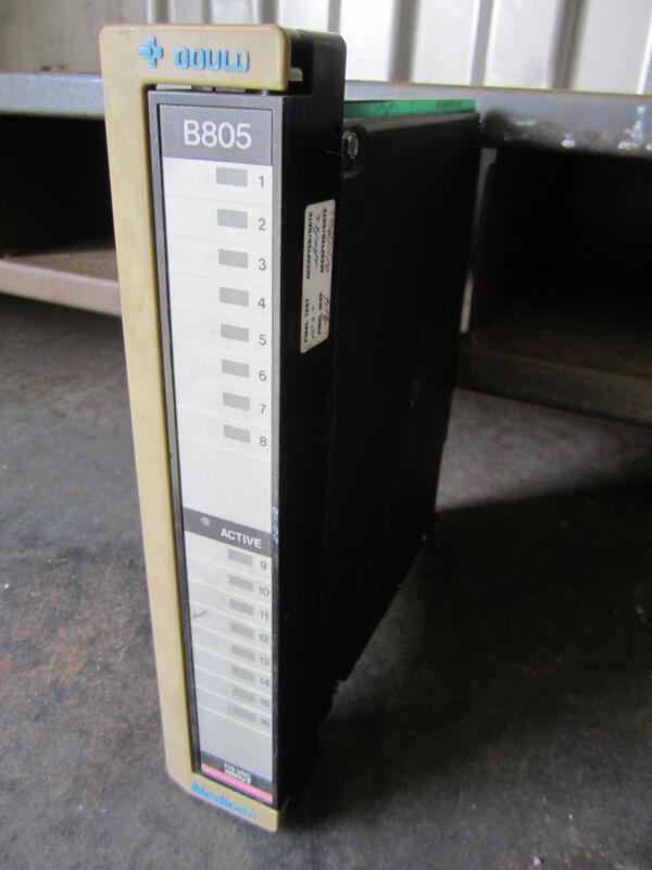 Gould B805 Modicon 115VAC Input Module Control