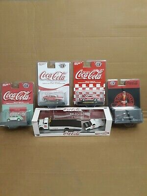 M2 Machines Coca Cola Lot 5 in total vw chevy ford mopar chevy hauler