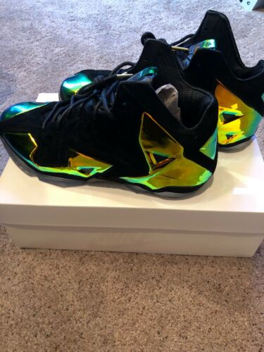 huge selection of d289e 7b5a6 ... DS New NIKE LeBron 11 XI EXT QS KINGS CROWN Size 10 DS New NIKE LeBron  11 XI EXT QS KINGS CROWN Size 10 DS New NIKE LeBron 11 XI EXT QS KINGS CROWN  Size ...