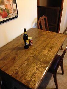 Solid wood table Kingston Kingston Area image 1