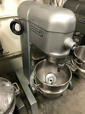 Hobart H-600 60qt Planetary Dough Mixer W Bowl Hook 208v60hz1-ph 1hp