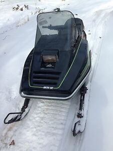 1990 Arctic cat Jag 340 with papers, super clean!