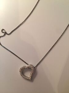 Heart Swarovski Necklace