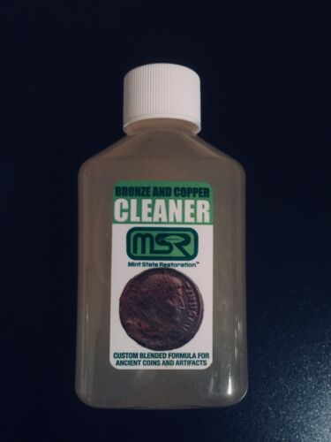 4 oz. Mint State Restoration > Coin & Artifact Ancient Bronze Cleaner