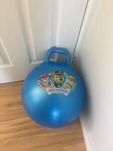 Paw patrol bouncy toy