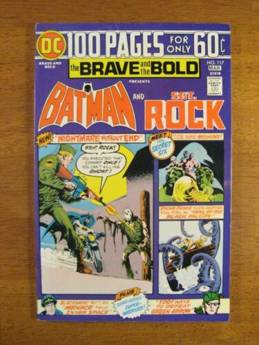 BRAVE & BOLD #117 Batman+ 100 Pgs! (NM-/9.0) Colorful Stunner! Great Spine!