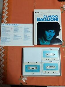 BOX-3-MUSICASSETTE-L-039-ALBUM-DI-CLAUDIO-BAGLIONI-RCA-MUSICA