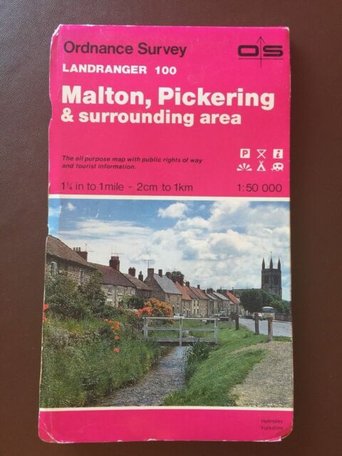 Landranger Maps: Sheet 100: Malton, Pickering and surrounding area
