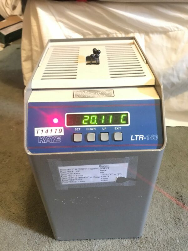 GE Kaye Instruments LTR-140 Temperature Bath -25C to 140C Dry Well Amphenol