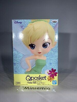 Banpresto Q posket Disney Characters : Tinker Bell Leaf Dress Ver. (B Color)