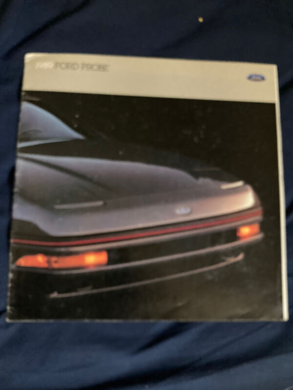 1989 Ford Probe by Mazda Color Sales Brochure Catalog Prospekt