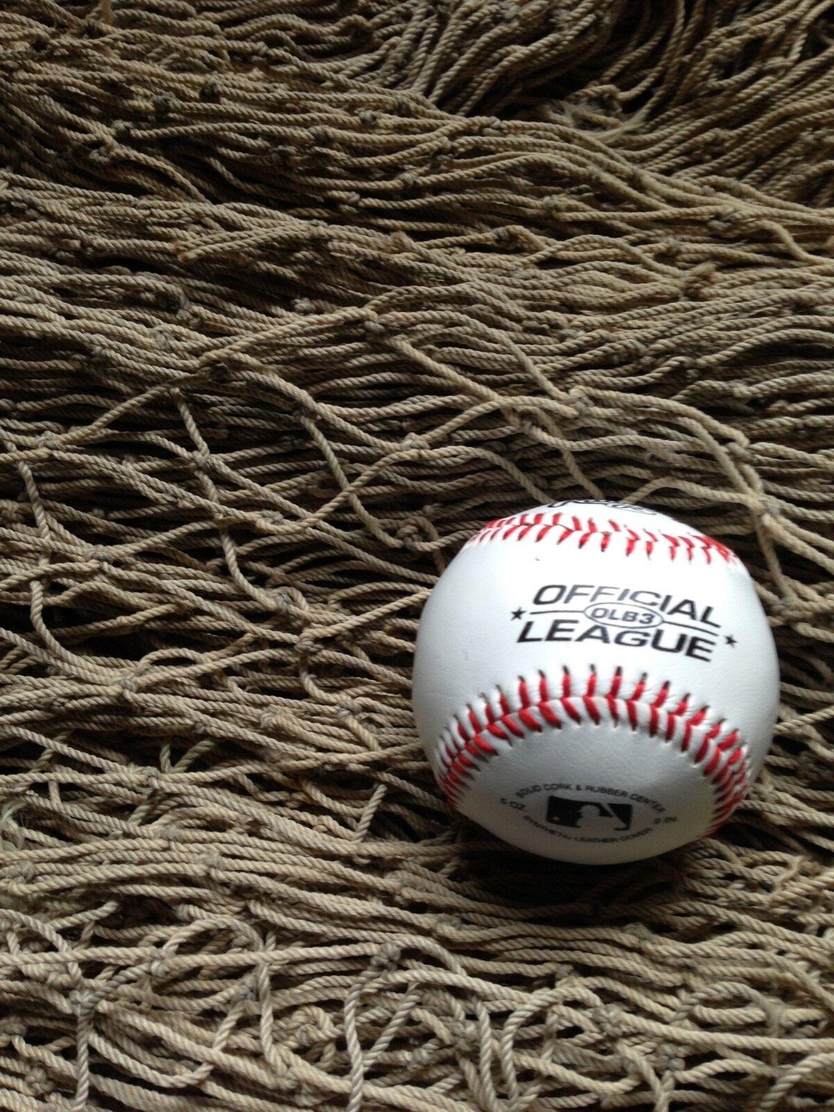 20ft x 15ft Baseball/Softball/Soccer Sporting Net, USED Commercial Fishing Gear