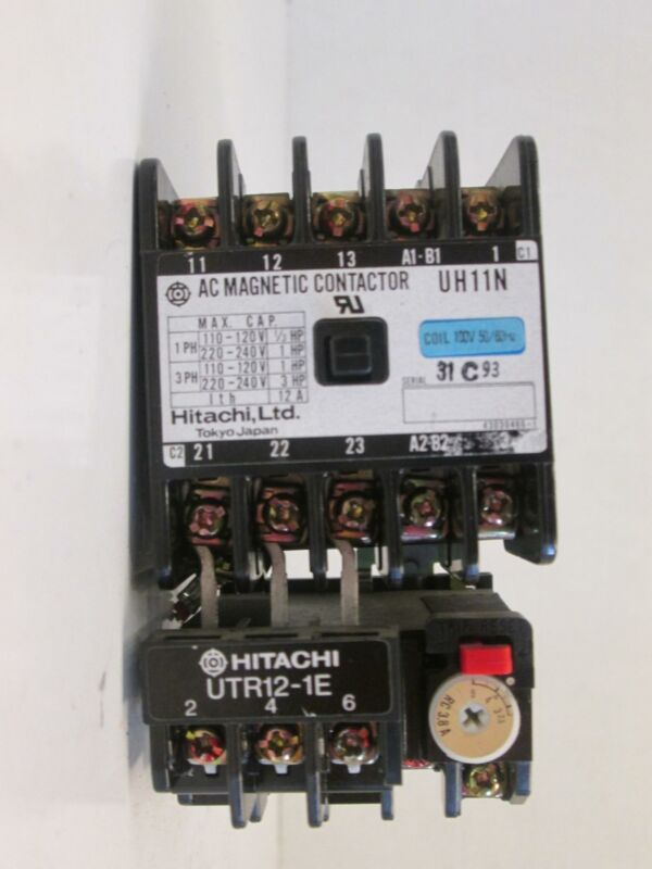 Hitachi UTR12-1E Magnetic Contactor