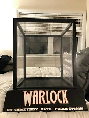 Michael Myers Warlock H2 Mask Display Case Stand HEH Woodworks