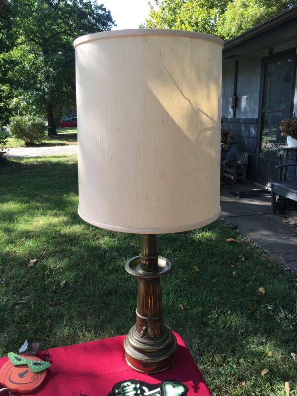 Vintage Fire Hose Nozzle Electric Lamp