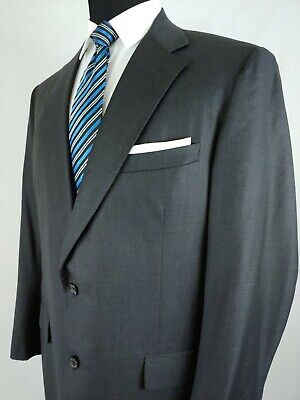 - Brooks Brothers Golden Fleece Suit 3 Button Gray Blazer Jacket Wool Mens 42/44L