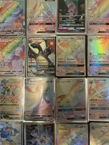 Pokemon Card Lot-10 Official Tcg Cards Ultra Rare Included-gx/ex/mega/v/vmax/fa