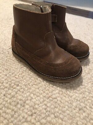 Jacadi Baby Boy Boots Size 6, used for sale  Boston