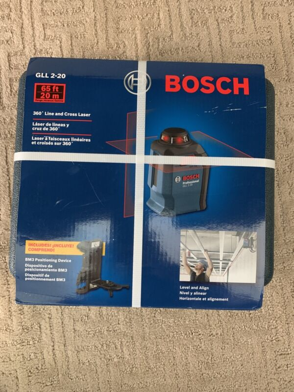 Bosch GLL 2-20 360 Degree Line and Cross Laser
