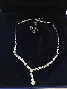 Worn once Swarovski crystal necklace in original box Kellyville The Hills District Preview