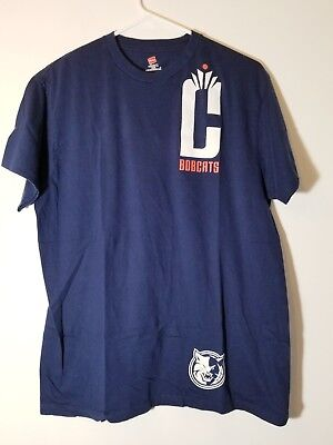 Charlotte Bobcats Basketball NBA T shirt  Large