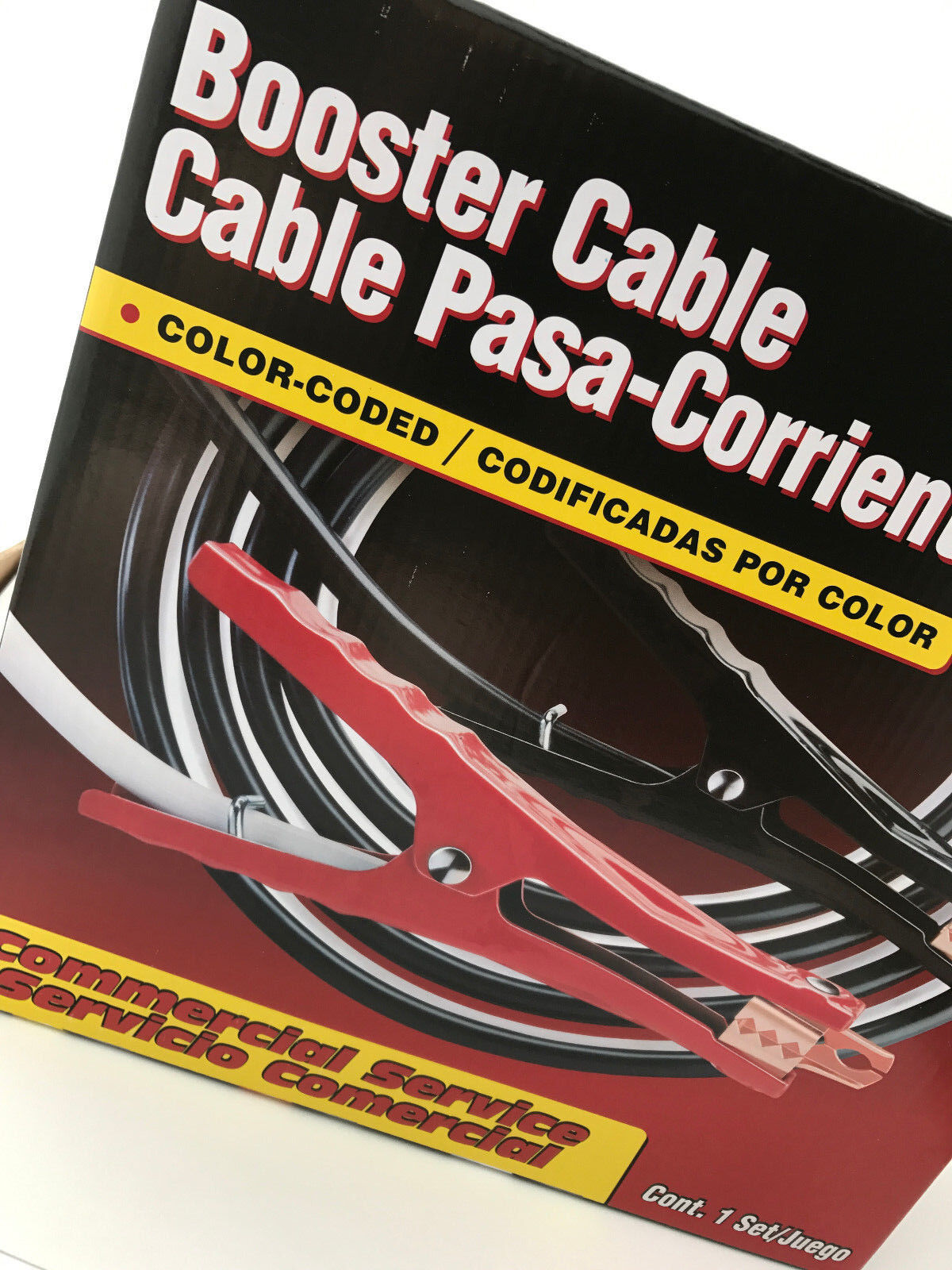 4 AWG Booster Cable Set 16 Feet Comercial Grade Car & Truck Parts