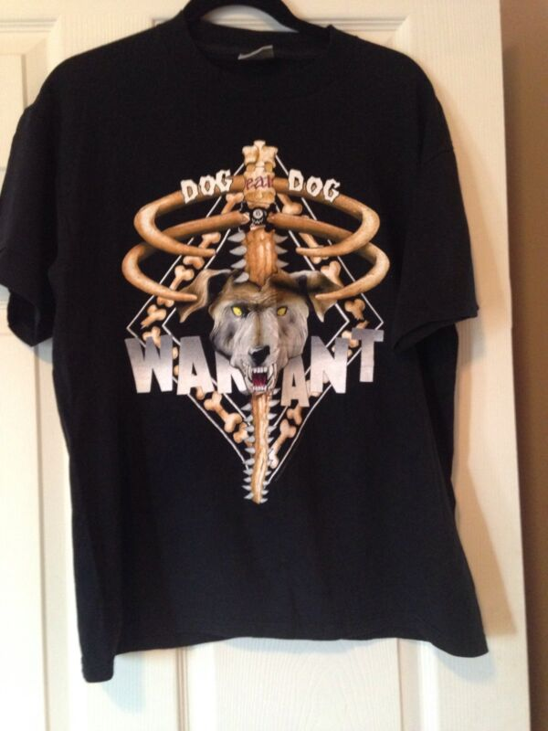 Warrant Hair Of The Dog VTG 92-93 New Concert T Sz L