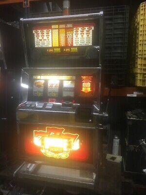 Bally 6000 Blazing7's Double Jackpot 3 coin SLOT MACHINE