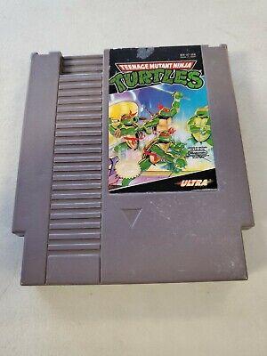 Teenage Mutant Ninja Turtles 1985 NES Nintendo Game, CART ONLY