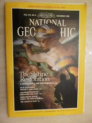 National Geographic- THE SISTINE RESTORATION - December 1989