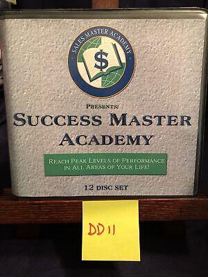 Sales Master Academy Success Master Academy Self Improvement CD Set Of 12