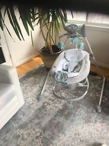 "excellent Baby swing chair """"ingenuity InLighten  for sale"""