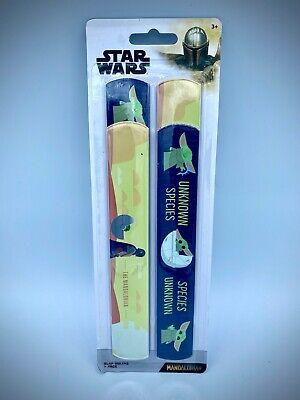 Star Wars Mandalorian Baby Yoda Grogu 4 Pack Slap Rulers Lucasfilm Disney +