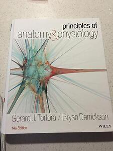 Principles of Anatomy and Physiology 14th (Tortora, Derrickson) Newcastle Newcastle Area Preview