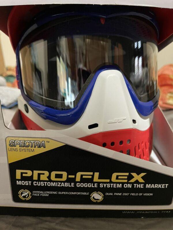 NEW JT Team USA Limited Edition Proflex Paintball Mask