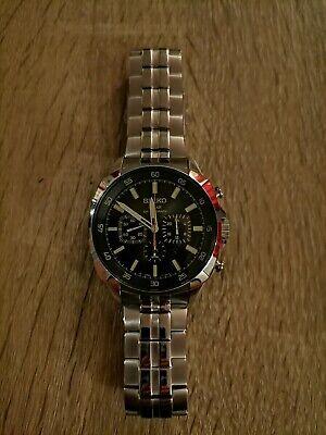 Seiko solar chronograph sports mens 640 581