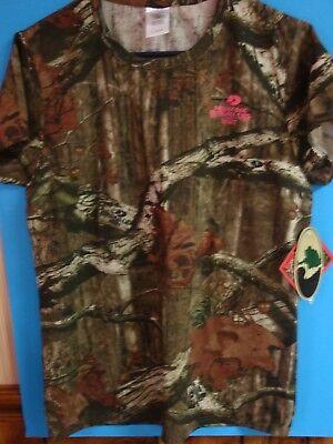 Ladies Mossy Oak Break-Up Infinity T-shirt, short sleeve, size Large