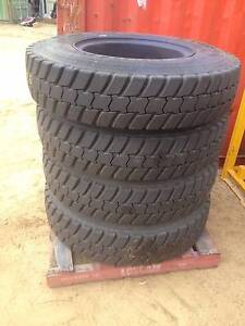 4x 325/95R24 Michelin Tyres + 10 Stud steel Rims NEW Kenwick Gosnells Area Preview