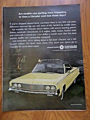 1965 Chrysler Newport 2 Door Hardtop Ad