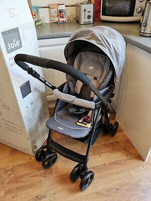 Joie Mirus Scenic Pushchair Pram Stroller Parent and World Facing Dark Pewter