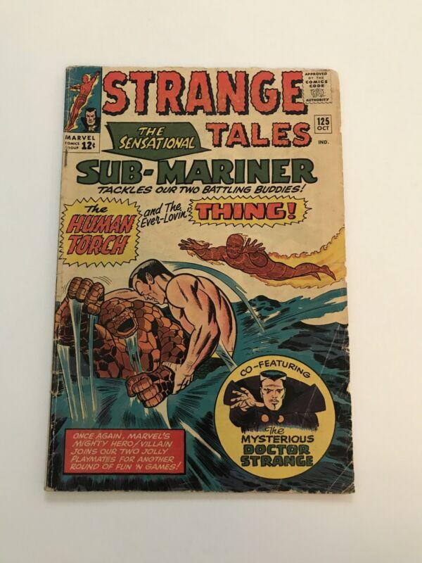 Strange Tales #125 -