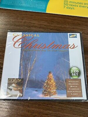 Classical Christmas Music 2 CDs New and sealed ()