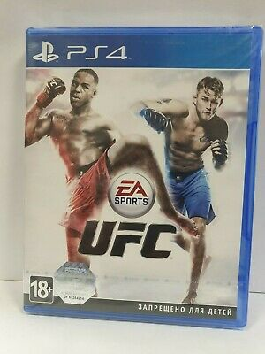 EA Sports UFC PS4 New & Sealed for sale  Shipping to Nigeria