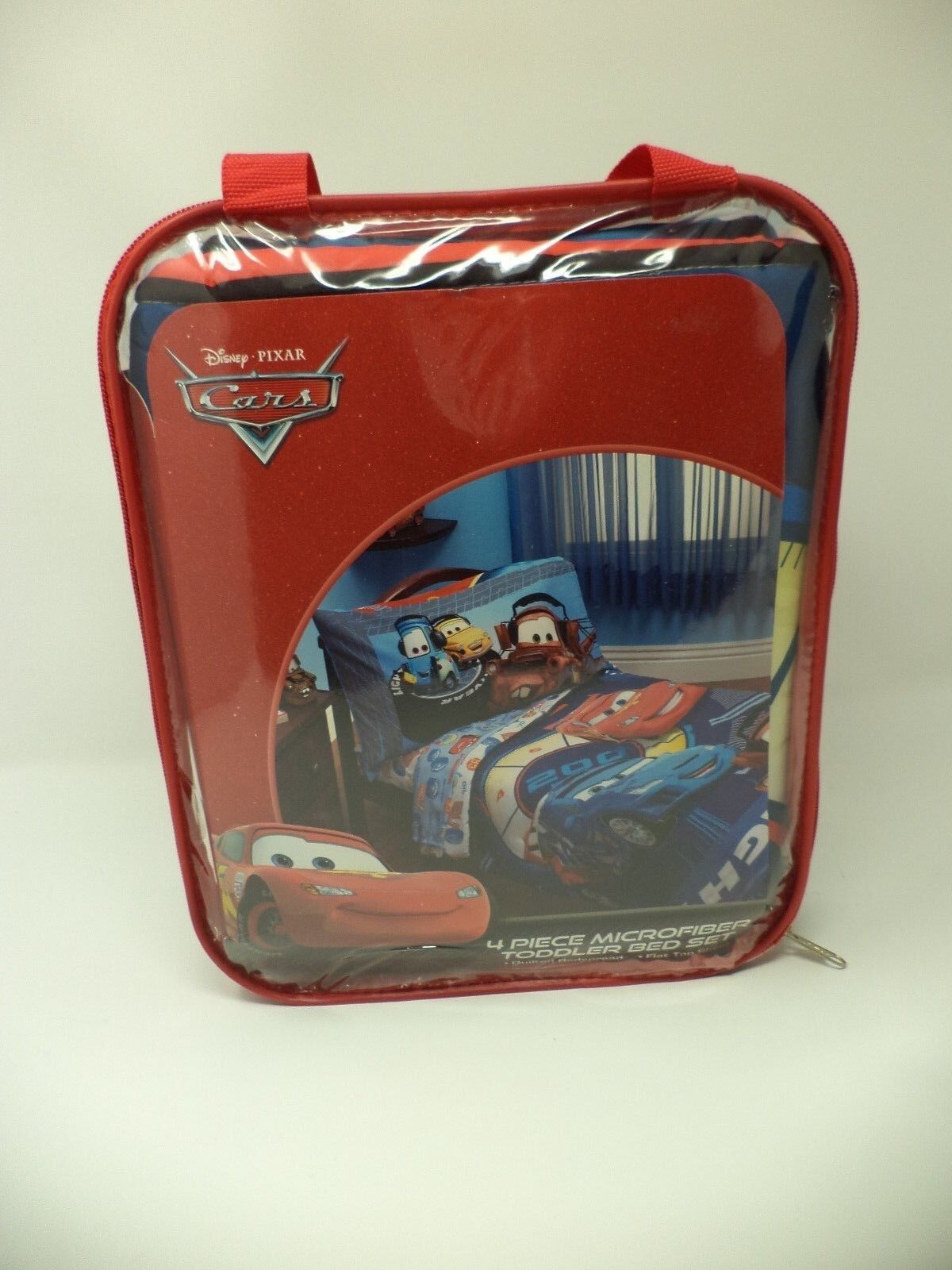 Disney Pixar Cars Lightning McQueen Toddler bedding set Fact