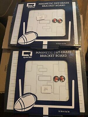 Quartet Dry Erase Bracket Board Set Of 2