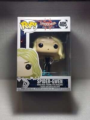 Funko Pop! Spider-Man Into The Spider-Verse Spider-Gwen #405 Gwen Stacy