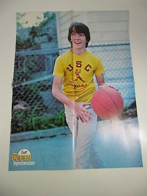 Teen Spectacular Magazine Double Sided Poster-Scott Baio; Parker Stevenson 21x16