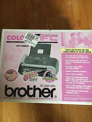 Brother Printer Facmfc-3360c Color Inkjet All-in-one Printerfax Machine Scanner